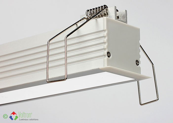 Led aluminium profielen/PF-35-BOORD-MI by Voltron Lighting Group