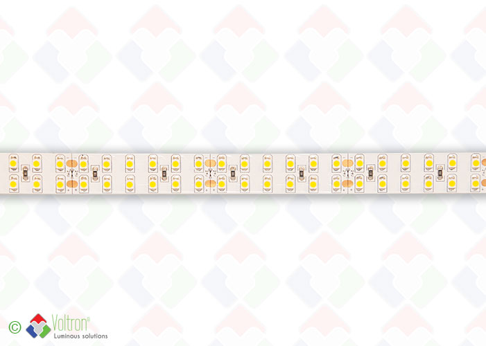 Led strip 240 led per meter SMD3528 - ULTRA SERIE/US-3528-240-DW-20-24V by Voltron Lighting Group