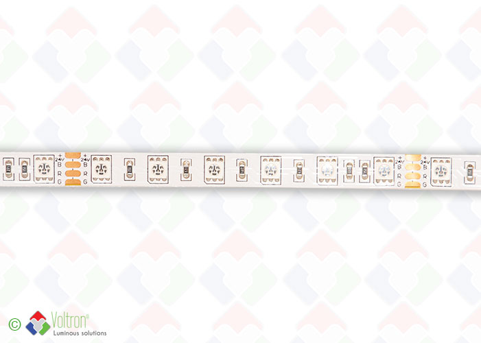 Led strip : 60 led par meter SMD5050 - ULTRA SERIE/PV-5050-60-RGB-20-24V by Voltron Lighting Group