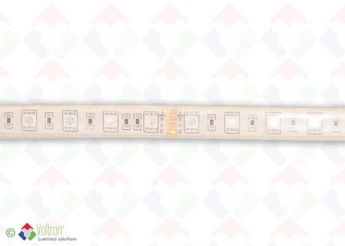 Led strip : 60 led par meter SMD5050 - ULTRA SERIE/US-5050-60-RGB-68-24V by Voltron Lighting Group