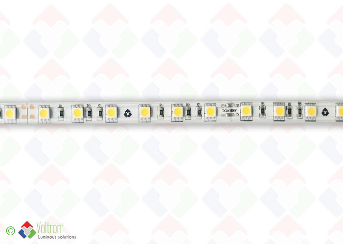Ruban led : 60 led par mètre SMD5050 - PREMIUM VERSION/PV-5050-60-WW-54-24V by Voltron Lighting Group
