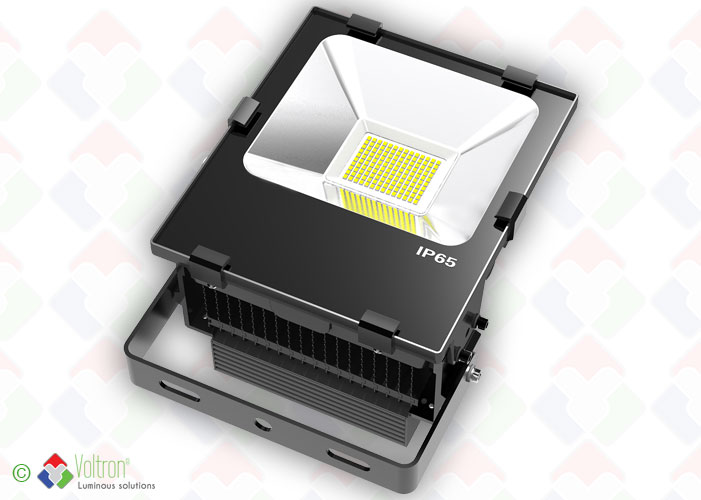 LED flood top design/VSTND-80W-65-WW by Voltron Lighting Group