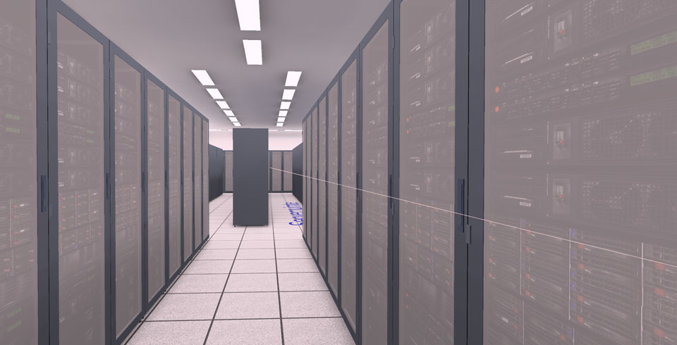 Proximus server rooms - ©Voltron®