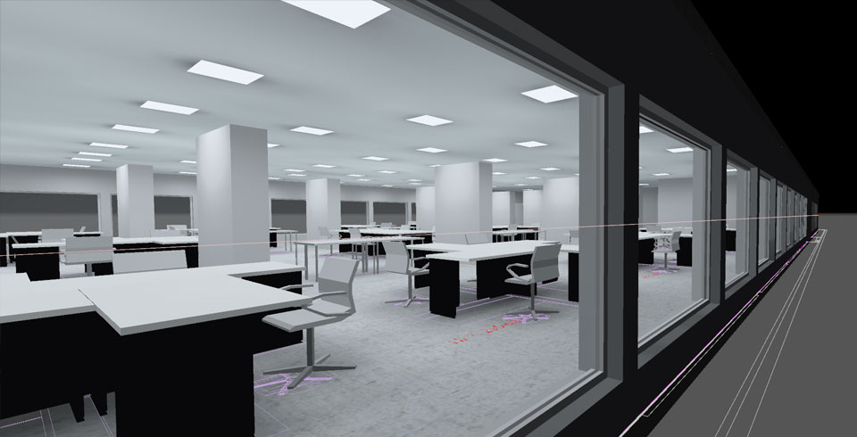 Telenet relighting business offices - ©Voltron®