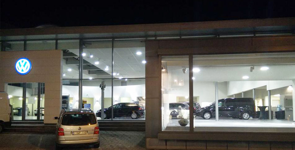 Volkswagen showroom ondergaat metamorfose - ©Voltron®